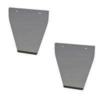 Stainless Steel Mud Flap Anti Sail 15""
