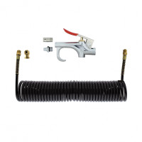 Air Chuck and Blow Gun Kit With Extension Hose