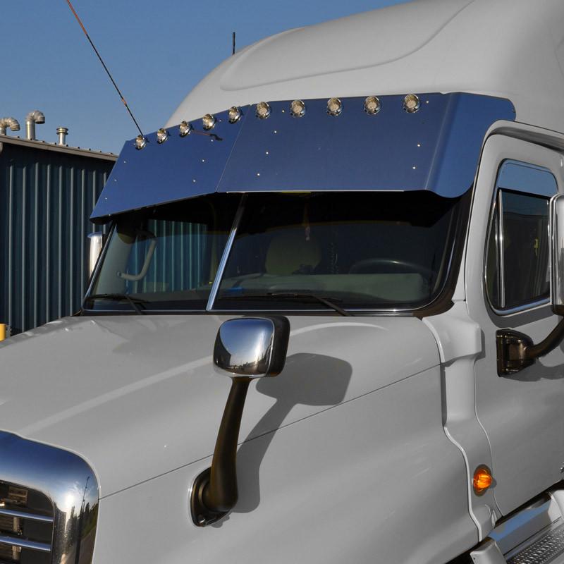 "Freightliner Cascadia 10"" Drop Visor"