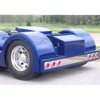 Peterbilt Fiberglass Rear T-Bumper