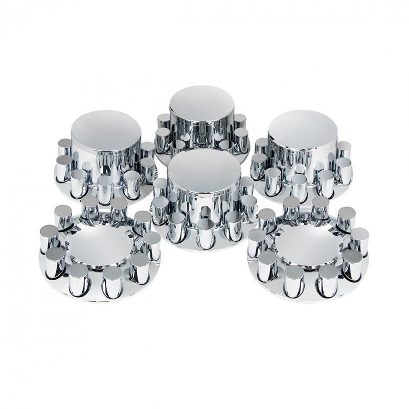 Complete Chrome Cover Kit with Lug Nut Covers