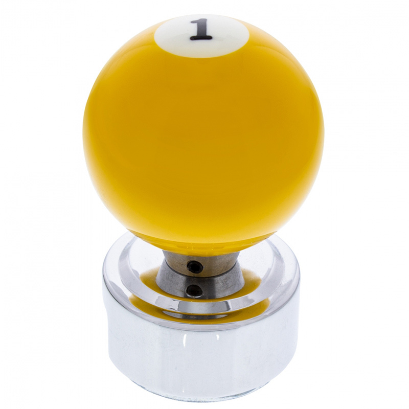 Pool Ball Gearshift Knob With Adapter #1
