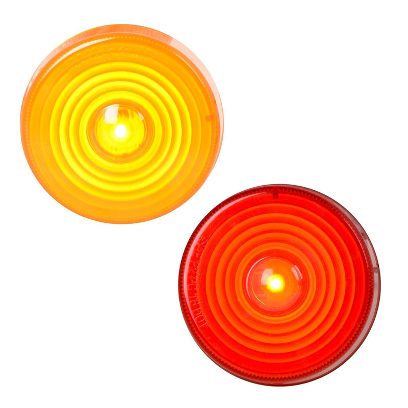 "2.5"" 'Highway Series' Stop Tail Turn Single Diode LED Sealed Light By Grand General Both On"