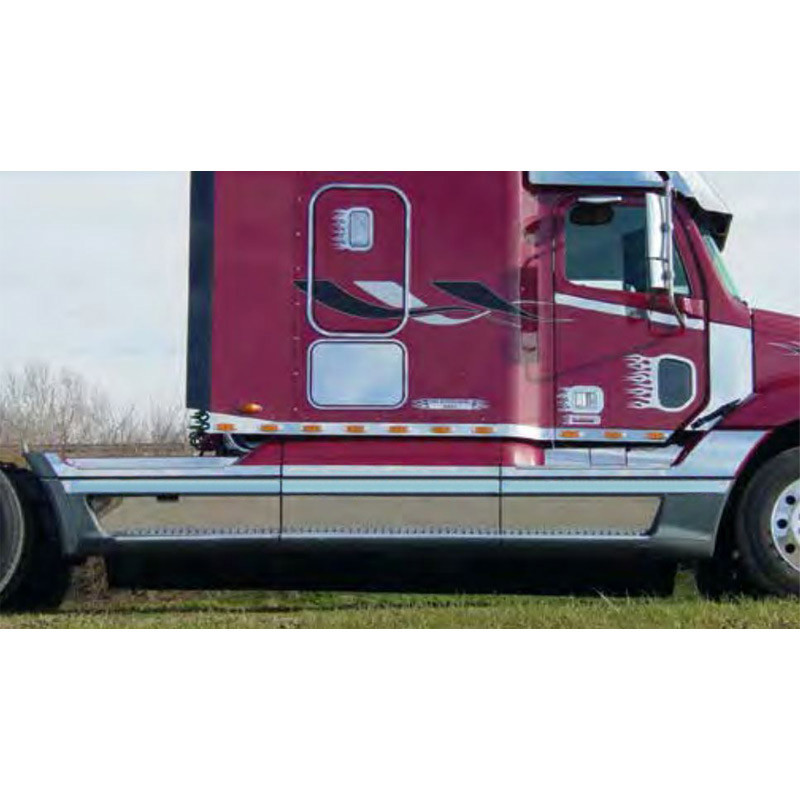 Freightliner Century Columbia Stainless Steel Fairing Trims