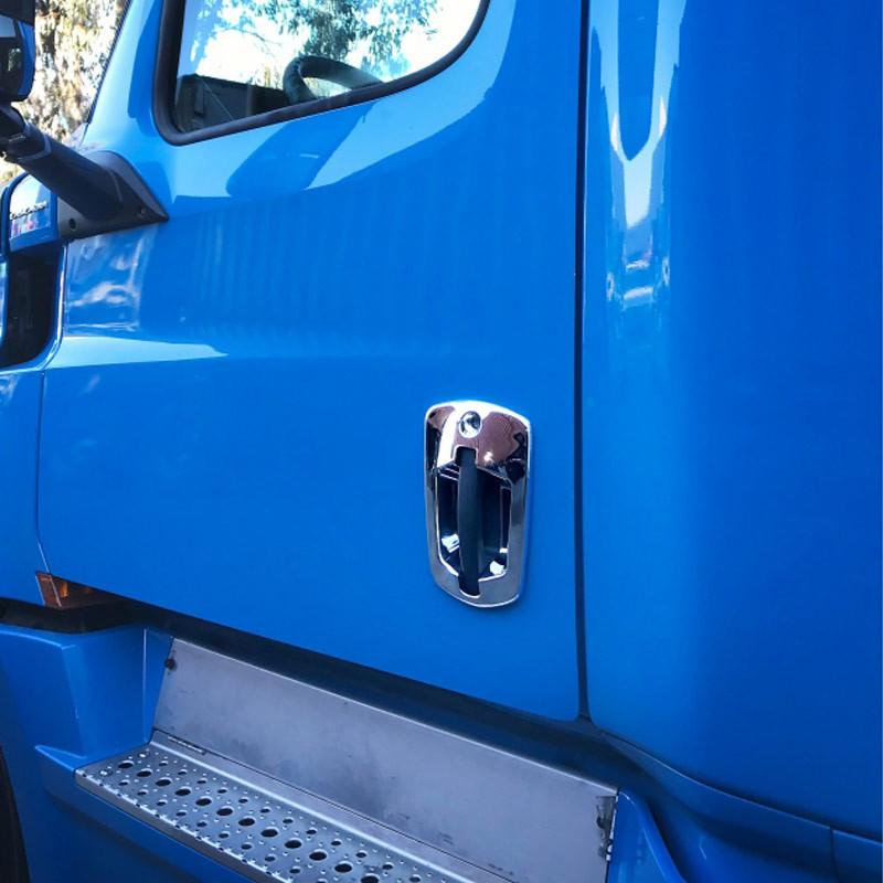 Freightliner Cascadia 2018+ Chrome Door Handle Cover Truck Model