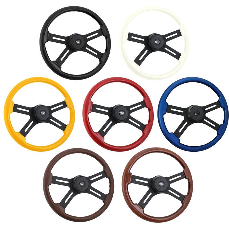 """Onyx 18"""" Steering Wheel Colors"""