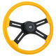 "Onyx 18"" Steering Wheel (Yellow)"