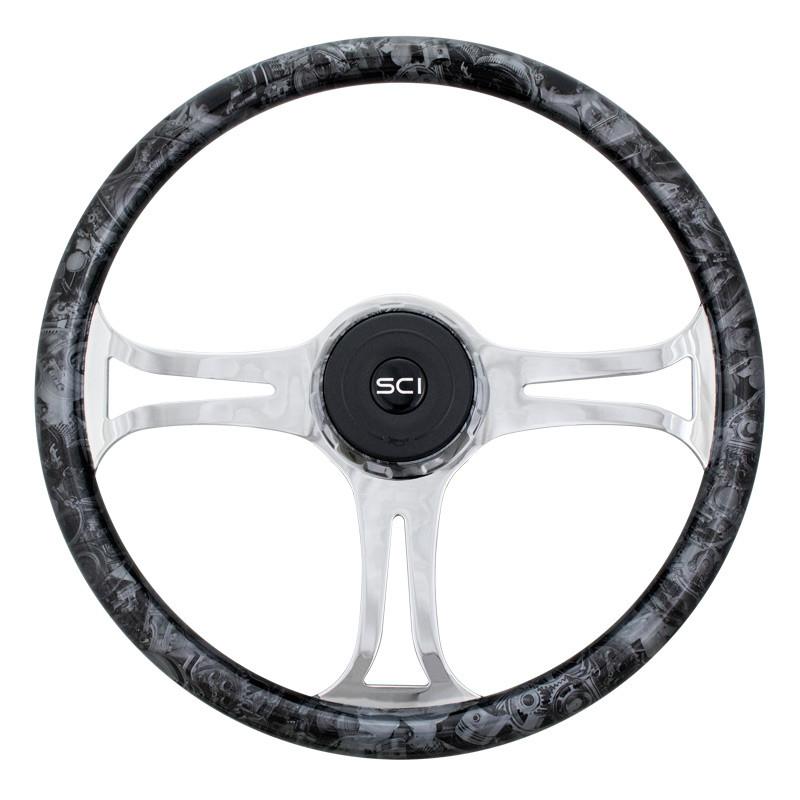 """Turbine 18"""" Steering Wheel"""