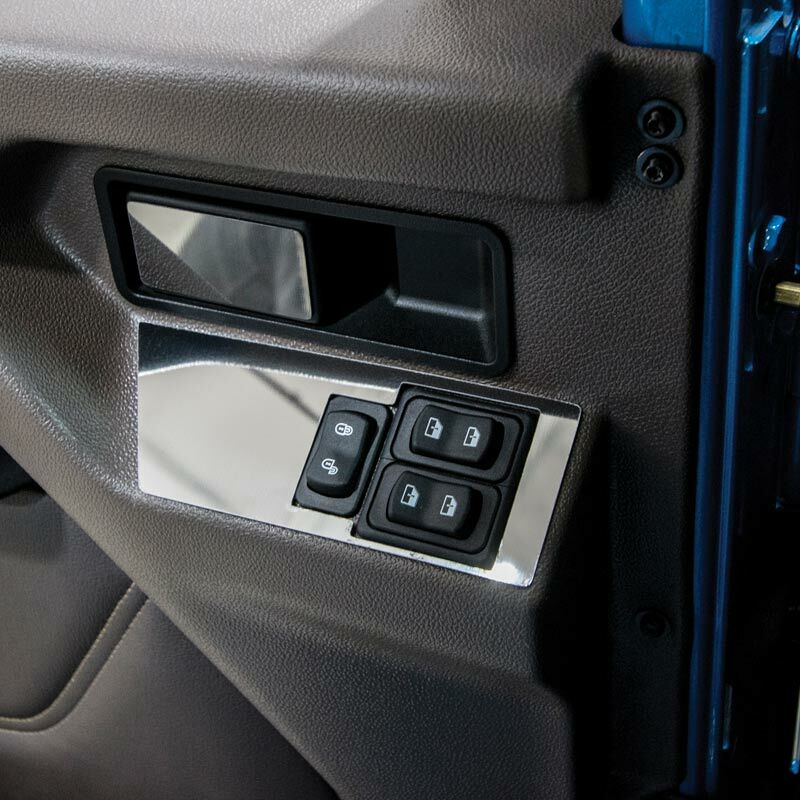 International HX520 Window And Lock Control Trims