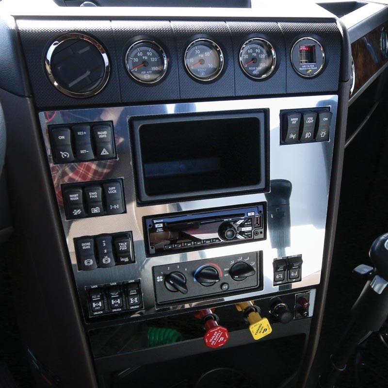 International HX520 Center Dash Trim