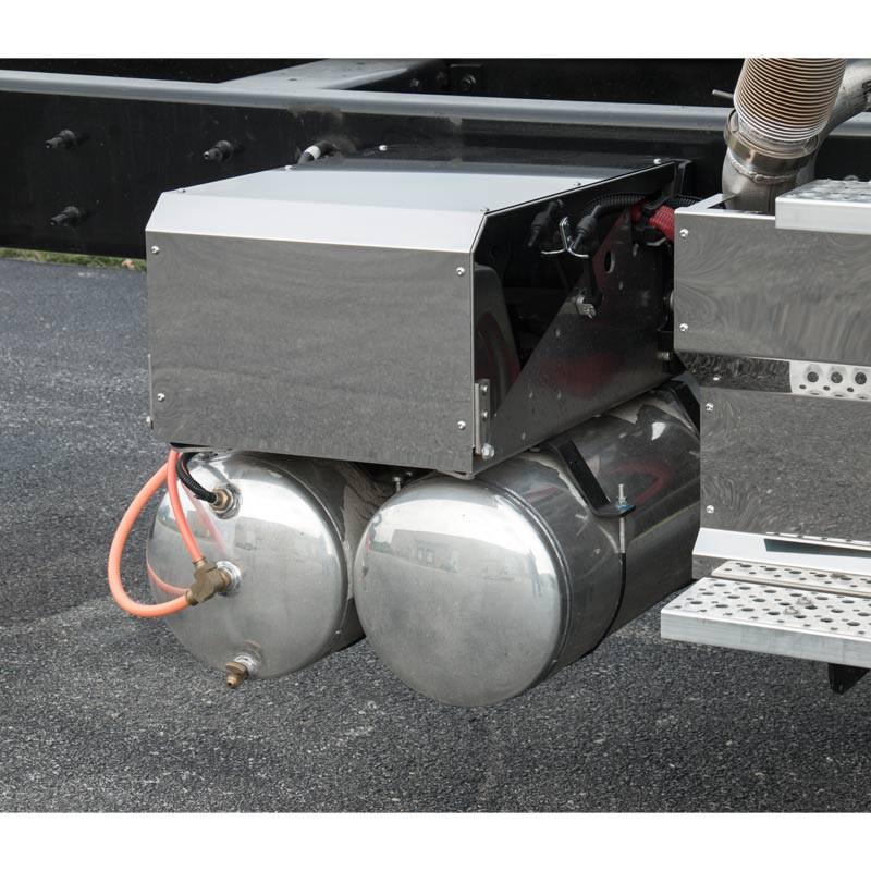 International HX620 Battery Box Cover