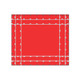 16' Heavy Duty 18oz Steel Tarp - Red