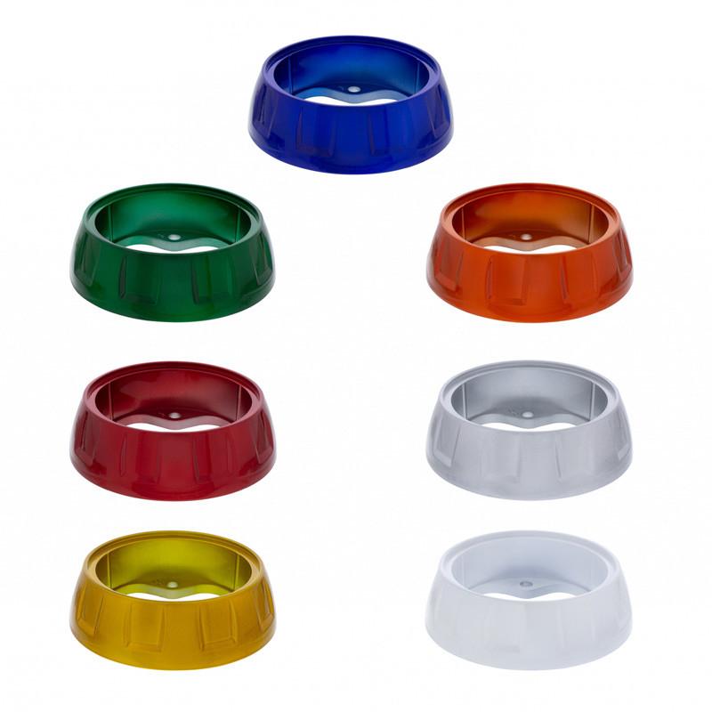Colored Steering Wheel Horn Bezel Set