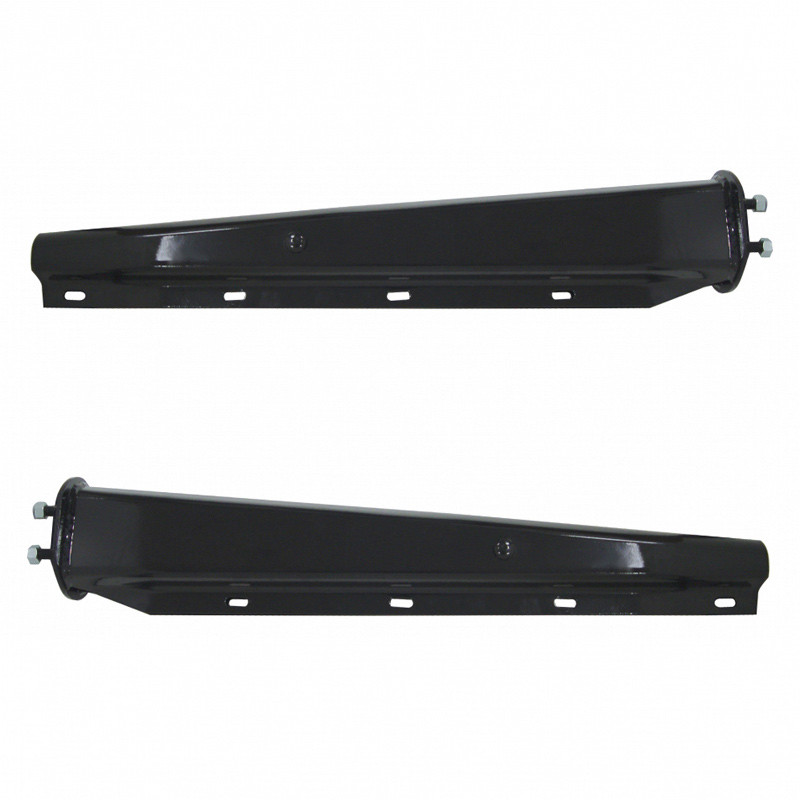 """30"""" Black Heavy Duty Competition Series Mud Flap Hanger 2"""" Bolt Spacing Thumbnail"""