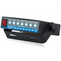 Amber LED Traffic Director With Cable And Controller Angled