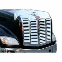 Peterbilt 579 Stainless Steel Grill Insert With 16 Louver Style Bars
