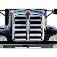 Kenworth T660 Stainless Steel Grill Insert With 19 Louver Style Bars