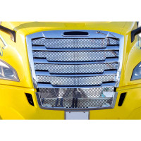 Freightliner Cascadia Stainless Steel Mesh Grill Insert - 2018 & Newer