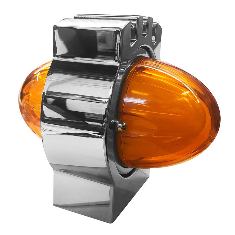 Kenworth Billet Turn Signal Light Angled