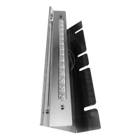 Kenworth Donaldson Front Backlit Air Cleaner Bars Angled
