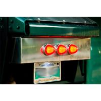 Rear Tailboard Center Panel Lights On