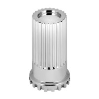 Screw On 33mm Chrome Lug Nut Cover By Grand General