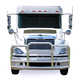 Freightliner M2 B2 ProTec Grill Guard (Installed)