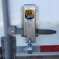Seal Safe Trailer Seal Lock Mounted