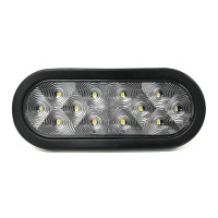 "4"" Ultra Thin Oval 12 LED Back-Up Light Kit"