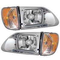 International 9200 9400 4700 5900i Headlight Pair