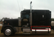 "Freightliner Classic 70"" Sleeper Panels On Truck"