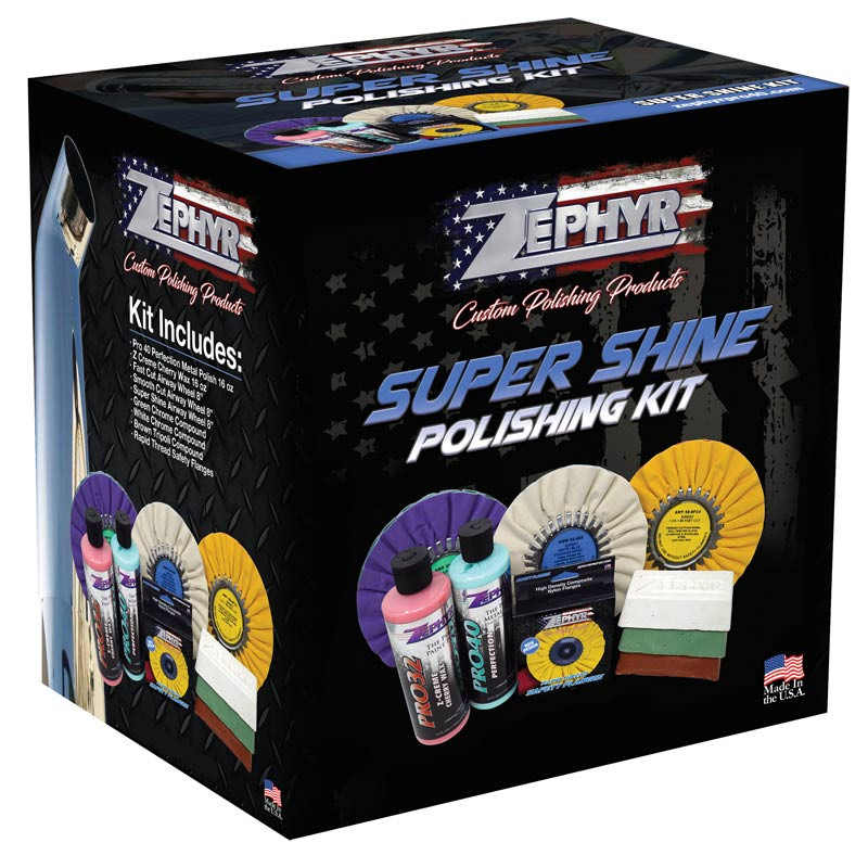 Zephyr Super Shine Polishing Kit (Box)