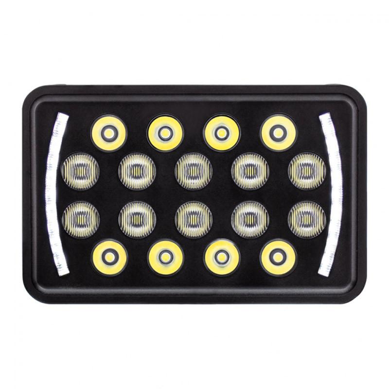 "18 High Power LED 4"" X 6"" Rectangular Off-Road Position Light"