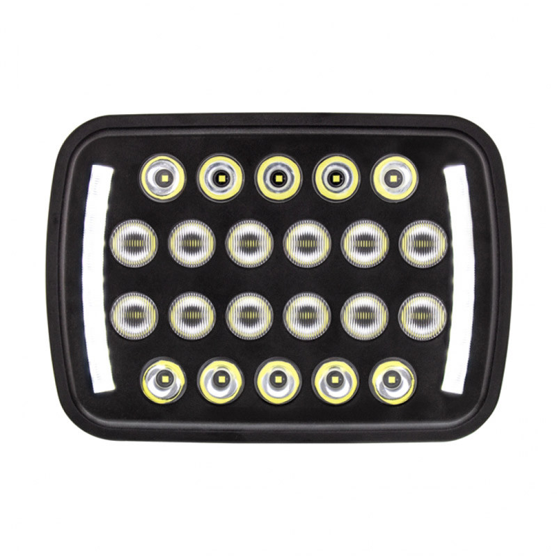 "5"" X 7"" Rectangular 22 LED High Power Headlight"