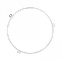 "7"" Stainless Steel Headlight Retaining Ring"