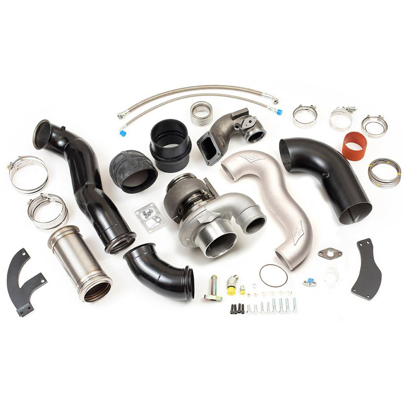 Big Boss Cummins ISX15 X15 Compound Turbo Kit Non-Coated