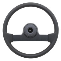 "16"" Horizon Black Polyurethane Steering Wheel"
