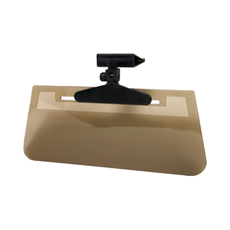"""Fully Adjustable Clip-On """"Ray Stopper"""" Tinted Sun Visor"""