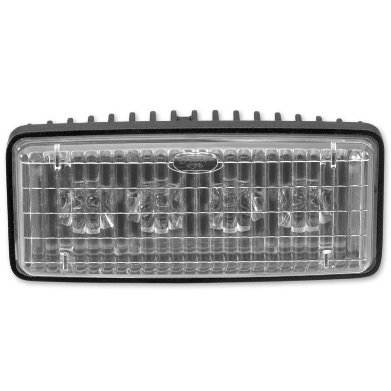 """JW Speaker 2"""" x 5"""" LED Auxiliary Lamp Model 6048 - Front View"""