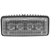 "JW Speaker 2"" x 5"" LED Auxiliary Lamp Model 6048 - Front View"