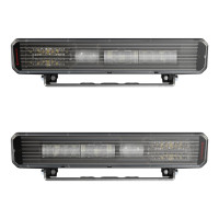 "JW Speaker 3.25"" x 13"" Heated LED Headlamp Model 9900 LP"