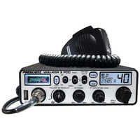 Walker II FCC 40 Channel CB Radio With Weather Alerts And SWR Meter - Light Blue