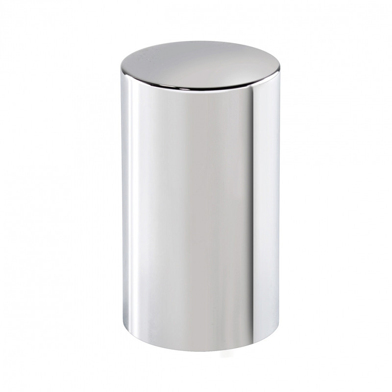 Chrome 33mm Push On Cylinder Nut Cover