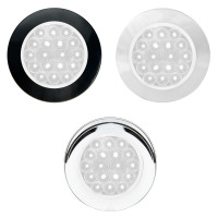 "4"" Round Ultra Thin Flange Mount Fleet Series Back Up LED Light"