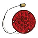 """4""""  Pearl Round LED Load Light With 1156 Plug - Red Wiring"""