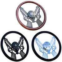 "18"" Pistol Steering Wheel By Forever Sharp"