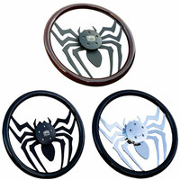"18"" Widow Steering Wheel - All Colors"