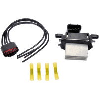 For 2002-2017 International 4300 HVAC Blower Motor Resistor Kit Dorman 21712ZY