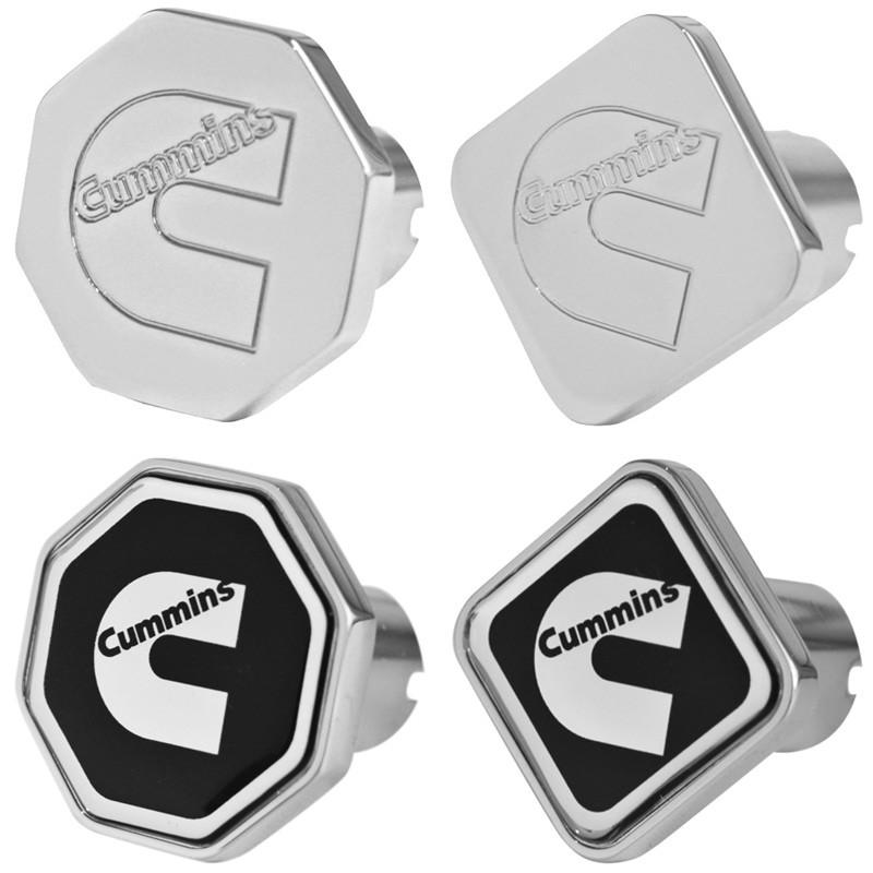 Engraved Cummins Logo Tractor Trailer Air Brake Knob