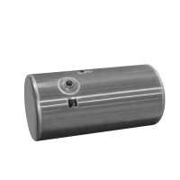 Driver Side Round Aluminum Fuel Tank